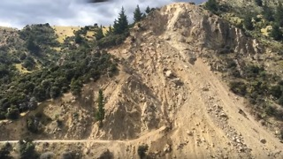 Quake Recovery Troubles Persist as Marlborough Land Slip Remains 'Unstable' - Video
