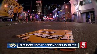Season Comes To Heartbreaking End For Preds Fans - Video