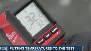 Putting temperatures to the test - Video