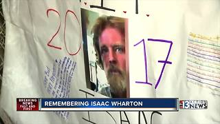 Homeless man remembered at service