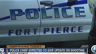 Police chief expected to give update on shooting - Video