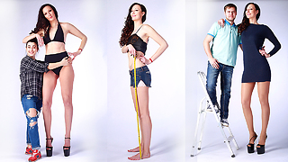 6ft 9in Woman Bids To Be World's Tallest Model - Video