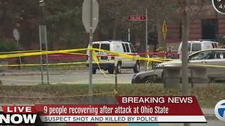 Nine people injured after attack at Ohio State University - Video