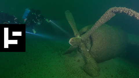 Lake Mead's B-29 Superfortress is Underwater History