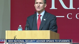 New national security adviser speaks to students at Ripon College - Video