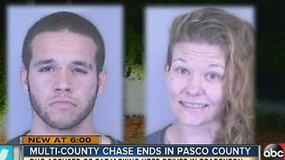 Pasco K9s track down car jacking suspects - Video