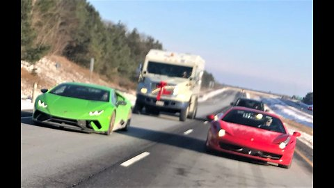 Supercar club needs armored escort for Christmas toy drive