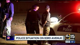 Police situation at 83rd and Virginia avenues - Video