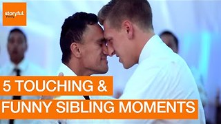 Funniest and Most Emotional Sibling Moments - Video