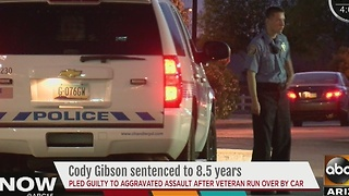 Cody Gibson sentenced to 8.5 years in prison
