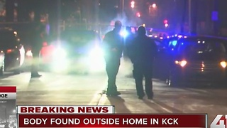 Body found outside home in KCK