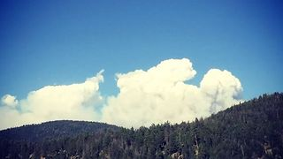 Smoke From Princeton Wildfire Seen in Nearby Tulameen - Video