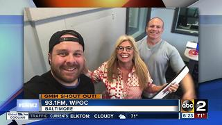 Good morning from the hosts of 93.1FM WPOC - Video