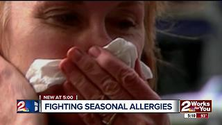 Struggling with summer allergies