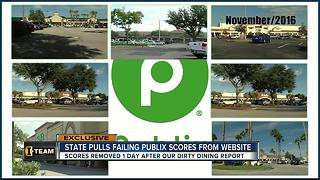 Dirty Dining: Grocery store inspections lack grades following investigation into Publix - Video