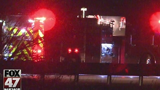 Woman in critical condition after crash Sunday night - Video