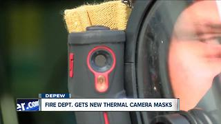 Depew Volunteer Fire Department gets new high-tech masks - Video