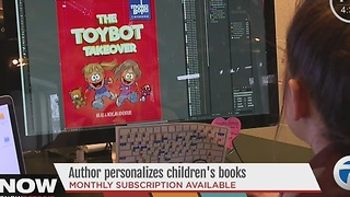 Local author personalizes children's books - Video