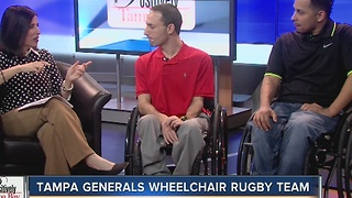 Positively Tampa Bay: Tampa Generals Wheelchair Rugby Team - Video