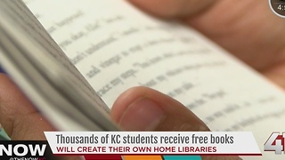 Thousands of KC students receive free books - Video