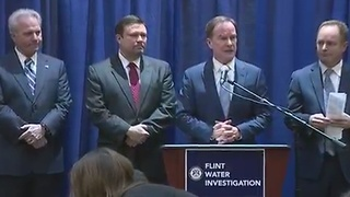 Former Flint emergency managers, city employees charged in Flint water crisis - Video