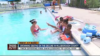 Tampa YMCA offering free swim lessons during spring break - Video