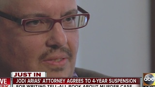 Jodi Arias' attorney agrees to 4-year suspension - Video