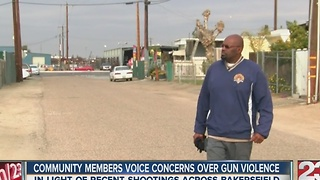 Community members voice concerns over gun violence - Video