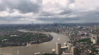 Stunning timelapse of rainclouds forming over London