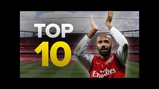 Top 10 Moments that Made... Arsenal - Video