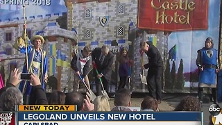Legoland unveils new hotel - Video
