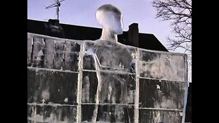 Latvian Ice Sculptures - Video