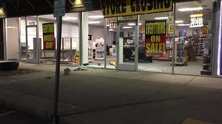 Raw Video: Suspect Sought In Radio Shack Smash-&-Grab - Video
