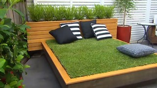 How to make an amazing Grass Day Bed - Video