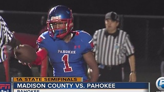 Pahokee Advances To State Final With Win Over Madison County - Video
