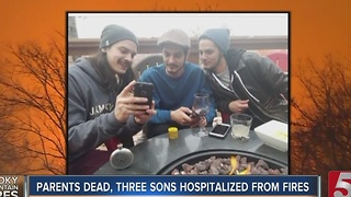 1 Of 3 Brothers Discharged From Hospital - Video