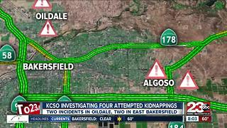 Multiple reports of attempted child abductions in Oildale, East Bakersfield - Video