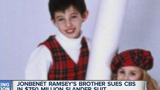 JonBenet Ramsey's brother sues CBS for $750 million - Video