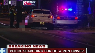 Pedestrian killed in hit-and-run crash in St. Pete - Video
