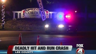 Bicyclist killed in Bonita Springs hit and run - Video