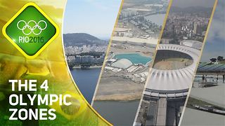 Rio 2016: These are the 4 zones of Rio - Video