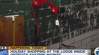 Holiday shopping at The Lodge - Video