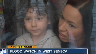 WEST SENECA ON EDGE FOR FLOODING - Video
