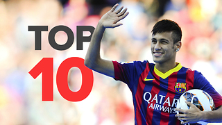Top 10 Most Expensive Barcelona Signings - Video