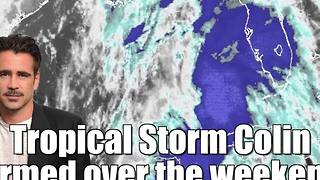 Tropical Storm Colin is headed for Florida - Video