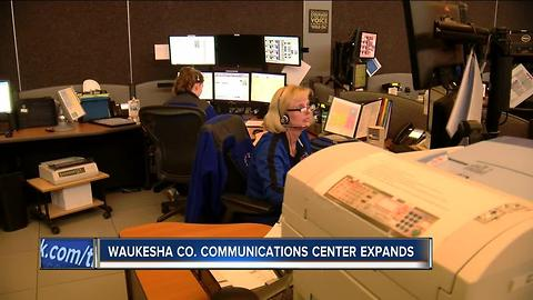 Waukesha County Communications Center ahead of schedule