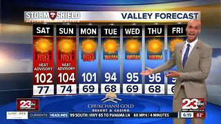 A cool off is in store for Kern County! - Video