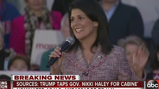 Sources: Trump taps Gov. Nikki Haley as U.S. ambassador to United Nations - Video