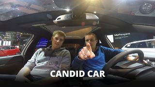 Hidden camera in a car: Need we say more? - Video