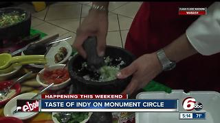 Taste of Indy on Monument Circle - Video